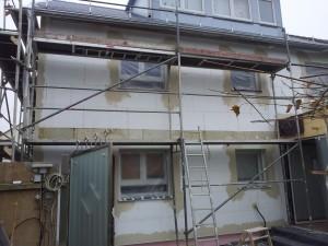 Ungericht Fassadendaemmung 1